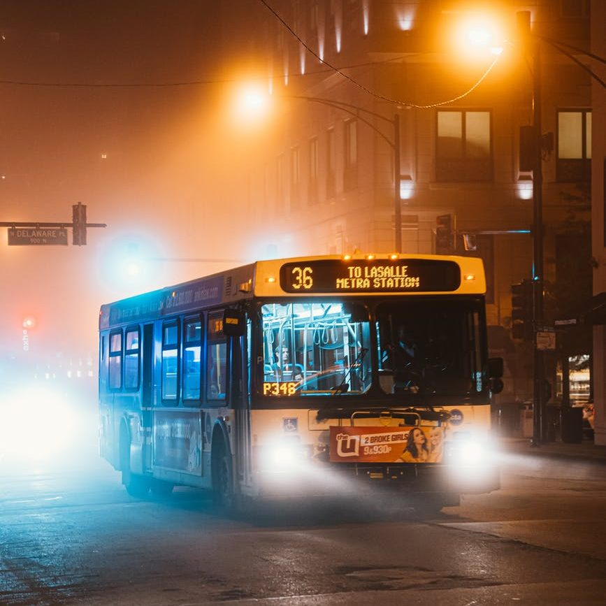 Picture of a city bus