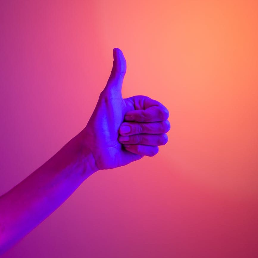 Picture of a thumbs-up